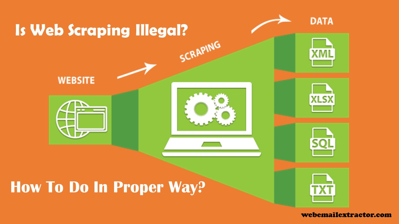 Is Web Scraping Illegal? How To Do In Proper Way?